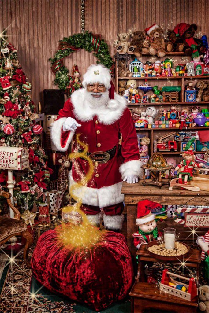 Meet Larry Jefferson, a Real Santa